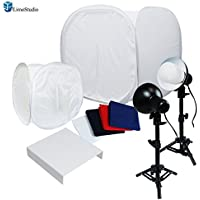 LimoStudio 30 Table Top Light Kit, Lighting Soft Box Photography Lighting Tent Kit
