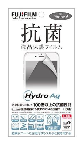 FUJIFILM Hydro Ag 抗菌液晶保護フィルム iPhone 6サイズ
