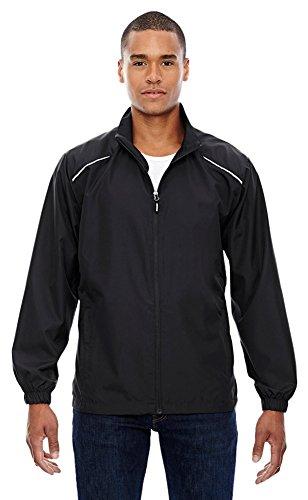 Ash City Core 365 Men's Tall Motivate Unlined Lightweight Jacket, 3XT, Black 703