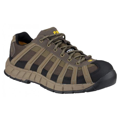 Cat Switch S1 Safety Footwear Brown