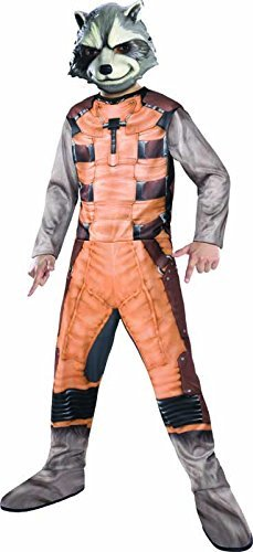 [Rubies Guardians of The Galaxy Rocket Raccoon Costume, Child Small] (Kids Classic Vampire Costumes)