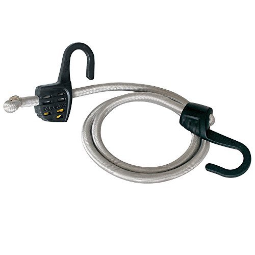 Master Lock Bungee Cord, Adjustable Bungee Cord with I-Beam Hook, 3039DAT - Cord Hook Part
