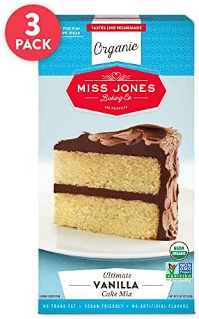 Baking Mixes: Miss Jones Baking Vanilla Cake Mix