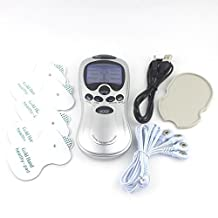 TENS Handheld Electronic Pulse Massager Unit, Pain Relief therapy Device - a portable Full Body Relax Muscle Stimulator for Electrotherapy Pain Management - Pain Relief on the Shoulder, Waist, Joint, Back, Arm,Leg & more