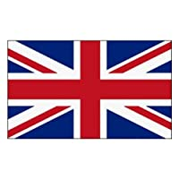 MM Great Britain–Union Jack Flag 5 feet x 3 feet (150 x 90 cm), weather-proof, multi-coloured,16208