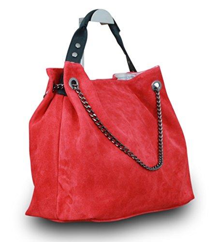 My-Musthave, Borsa tote donna Rosso rosso Medio