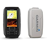 Garmin STRIKER PLUS 4cv with CV20-TM transducer and Protective Cover, 4 inches 010-01871-00