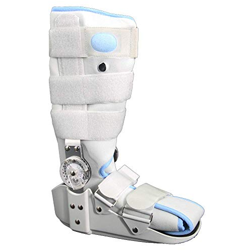 Tree Rebound Air Walker Boot,Adjustable Inflatable Ankle,Support Shoes Protecton for Fracture Fibula Ligament Damage,Protection and Healing After Foot Or Ankle Injuries,M