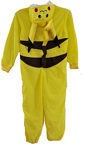 Kids Animal Boys Girls Halloween Onesie Costume (Small (6-8)) Yellow]()