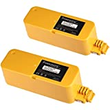 Powerextra 2-pack 14.4v 3500mAh Ni-MH Extended Battery for iRobot Roomba APC 400 4905 4000 Series
