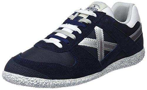 Munich Sneaker Unisexe Objectif Adulte, Bleu Marine, Eu Diff