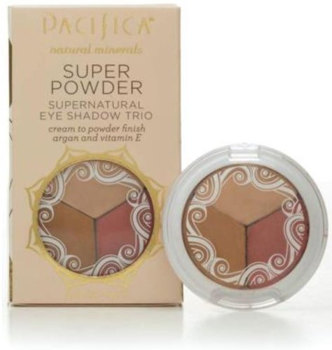Pacifica, Eyeshadow Trio Breathless Glowing Sunset, 0.1 Ounce