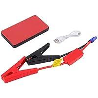 Batería de arranque de salto, 12V 20000mAh Mini Portable Multifunctional Car Jump Starter Power Booster Battery Charger Emergency Start Charger