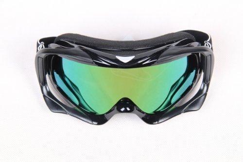 Black Adult Motocross Motorcycle ATV Dirt Bike Off-Road Goggles Eyewear