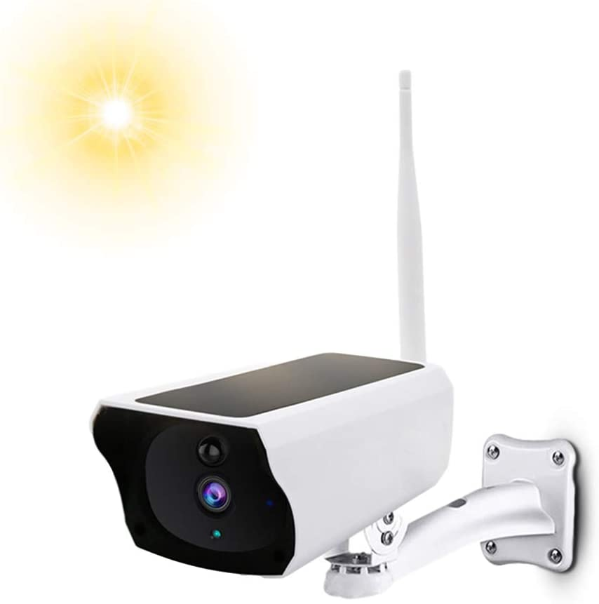 EKAT Security Camera Outdoor, Wireless Outdoor Cameras for Home Security, Solar Security Camera , 2.4Ghz WiFi, Motion Detection, Night Vision, IP66 Waterproof, Solar Charging