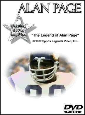 Alan Page Greatest Sports Legends DVD