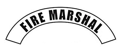 MSA Safety ds213p Scotchlite Fire Marshall título cinta para uso con Cairns fuego y rescate cascos