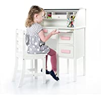 Guidecraft Jr. Roll-Top Desk - White G97301