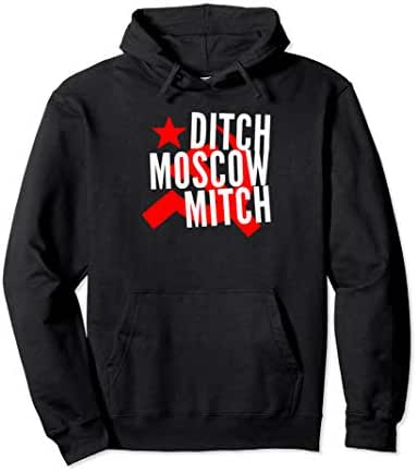 Ditch Moscow Mitch McConnell Anti Trump 2020 Gift Pullover Hoodie
