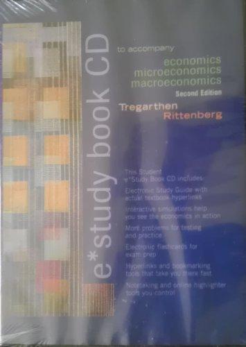 E-Study Book for Economics, Second Edition