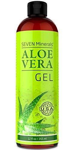 Organic Aloe Vera Gel with 100% Pure Aloe from FRESHLY CUT A