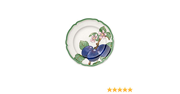 Porcelana Premium Blanco//Multicolor Villeroy /& Boch French Garden Modern Fruits Taza extragrande Ciruela 480 ml