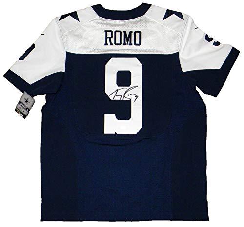 Tony Romo Signed Jersey - #9 Nike Elite - JSA Certified - Autographed NFL Jerseys