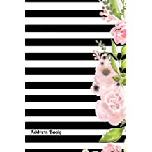 Address Book: Mini Address Logbook, At A Glance Phone Numbers, With Email and Birthday Information, Alphabetical A-Z Addresses Organiser Pocket Journal, Diary, Notebook For Women, Men, Boys, Girls, 4?x6? Paperback