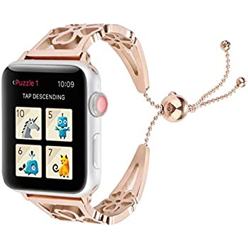 Amazon.com: WONMILLE Bracelet for Apple Watch Band 42mm