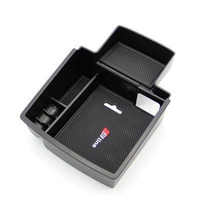 E-Bro 2016 Latest Car Glove Box Armrest Storage box Organizer Center Console Tray For Audi Q5 2008-2016 4350408982