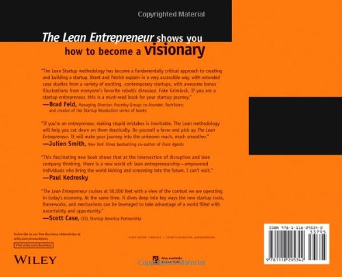 The Lean Entrepreneur: How Visionaries Create Products, Innovate ...