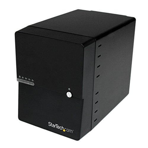 StarTech.com USB 3.0 / eSATA 4-Bay 3.5in SATA III Hard Drive Enclosure w/Built-in HDD Fan & UASP - 4-Bay HDD Enclosure - SATA 6Gbps 35 Inch Fan Controller