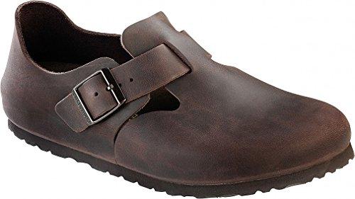 Birkenstock London Narrow Shoe - Women's Habana Oiled Leather, 41.0 by Birkenstock