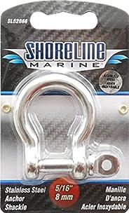 Shoreline Marine SL52066-X 5/16-Inch Shackle Anchor, Stainlesss Steel