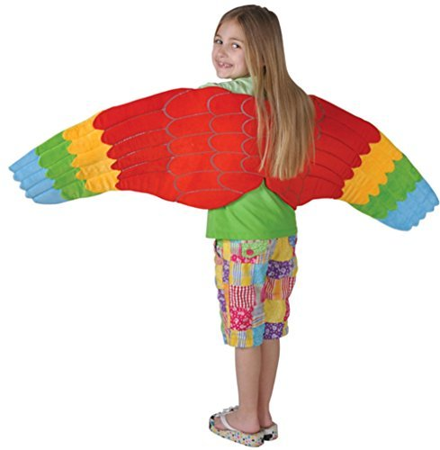 Child Full Length Bird Costume Accessory Parrot Wings]()