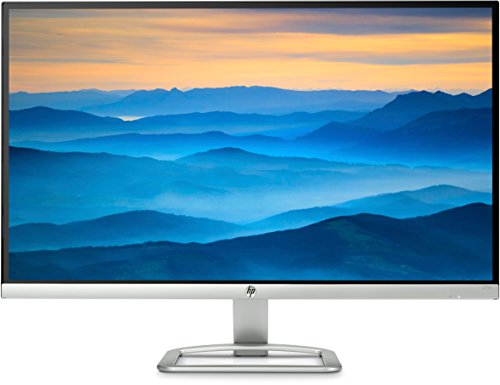 HP 27es (T3M86AA) 68,58 cm (27 Zoll) Monitor (Full HD, VGA, HDMI, 7ms Reaktionszeit) schwarz/silber