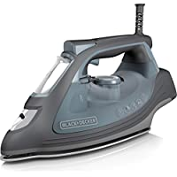 Black+Decker Impact Advanced Steam Iron (Gray)