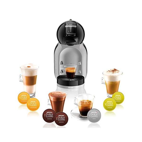 De'Longhi Nescafé Dolce Gusto Mini Me.Edg155.Bg.Macchina per Caffè Espresso e Altre Bevande Automatica, Black & Artic… 6