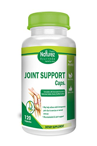 - Natural Anti-inflammatory and Arthritis Advanced Joint Support Capsules 500mg by Naturez Ayurveda Organic Joint Supplement for Knee, Neck, Shoulder, Back and Fingers (120 Capsules)