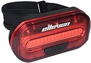 Pisca Light Tras Extra Brilho 15 Chips 2 Funções Lente Vermelha Elleven