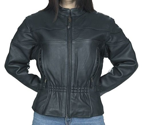 motorcycle vented jacket - 5