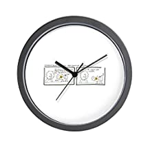 "CafePress - Love Grows - Unique Decorative 10"" Wall Clock"