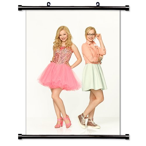 Dove Cameron Actress Fabric Wall Scroll Poster (16x22) Inches