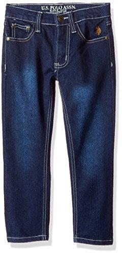 Crinkle Denim Jeans - 8