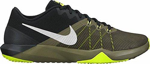Nike Nike Retaliation TR–Scarpe sportive, Uomo, Verde–(Medium Olive/METALLIC silver-black-volt)