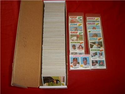 1977 Topps Baseball Complete 726 Card Hand Collated Set in Excellent to Mint condition. Featuring Andre Dawson's Rookie Card!! Loaded with Stars and Hall of Famers Including Nolan Ryan, Eddie - Jack Topps 1977