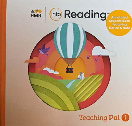 HMH Into Reading Teaching Pal 2, Grade 2 Book 1, Pub Year 2020, 9781328517166, 1328517160