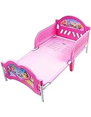 دلتا كيدز سرير بلاستيك منخفض للاطفال , متعدد الالوان - BB86683PS