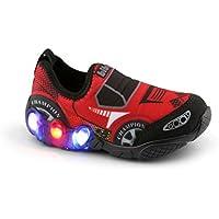 Tênis de LED Infantil Bibi Space Wave Carros 545151