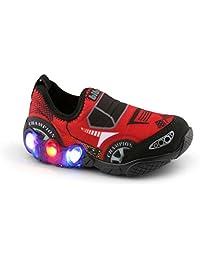 Tênis de LED Infantil Bibi Space Wave Carros 545151 c529fed20fc9d